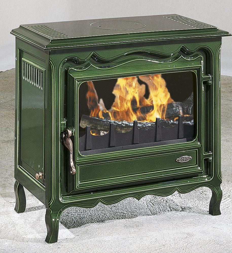 po le bois godin regence. Black Bedroom Furniture Sets. Home Design Ideas